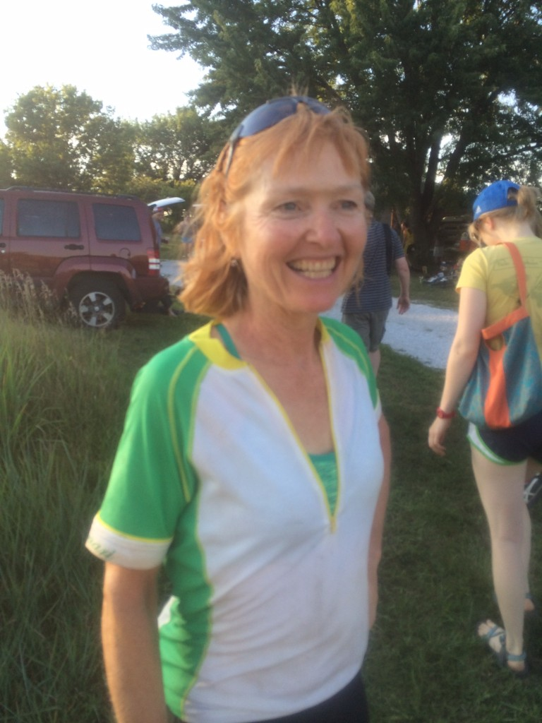 Janine rocked out for second in Masters.